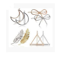 8 To 12 Pieces Geometry Hair Hair Accessories Styling