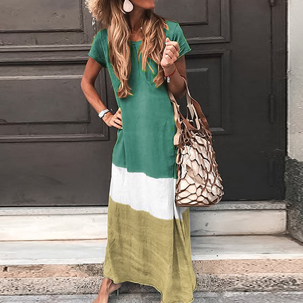 Long T-shirt Dress Summer Casual Maxi Dresses