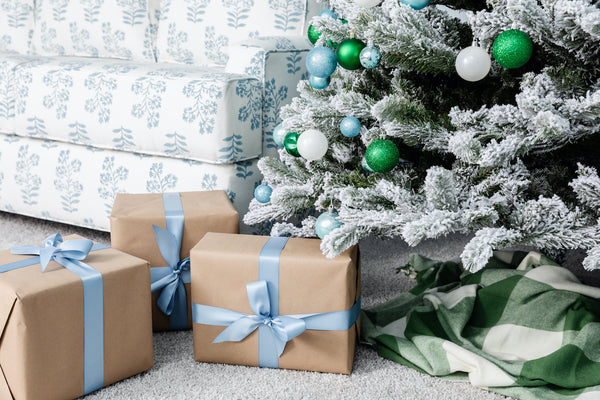 A Blue & Green Christmas: Decorating Our Home for the Holidays