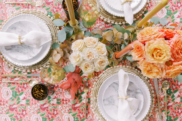 Entertaining at Home: Thanksgiving Tablescape