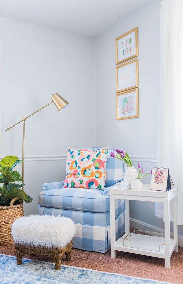 Customer Spotlight: Mimi Striplin's Colorful Office Made for Creating!