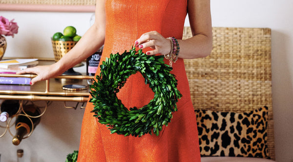 Roxy's Tips for Decorating With Preserved Boxwood