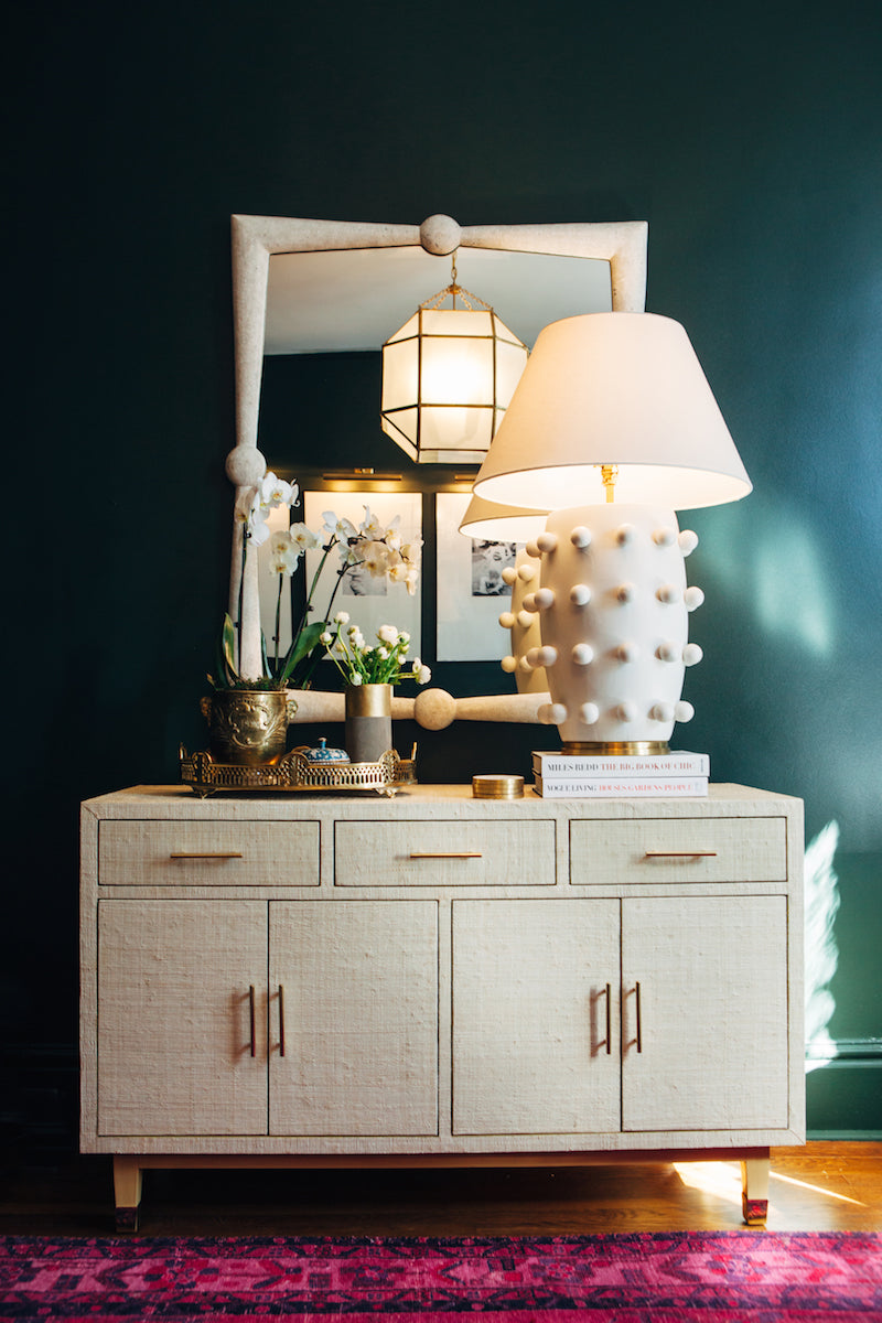 We love this dramatic vignette mix of