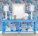 Ming II Grasscloth Console - Color Collection