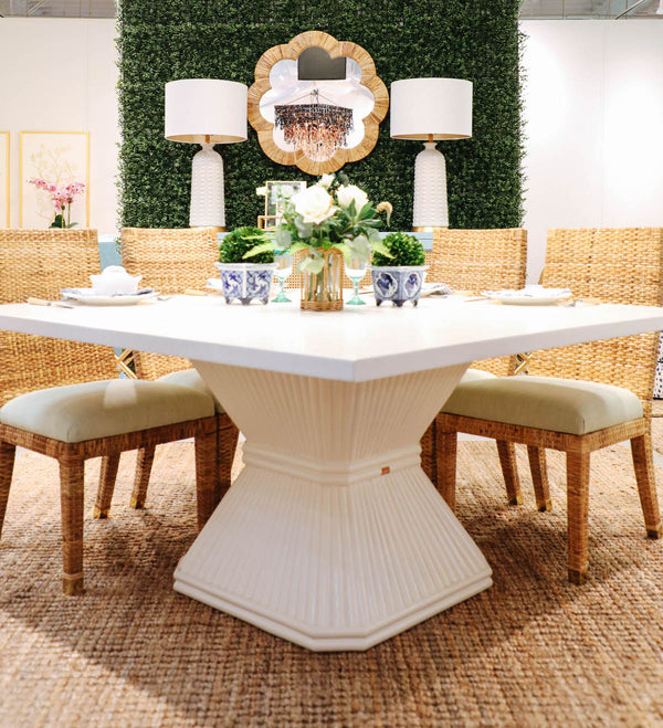 Coco Rattan Dining Table
