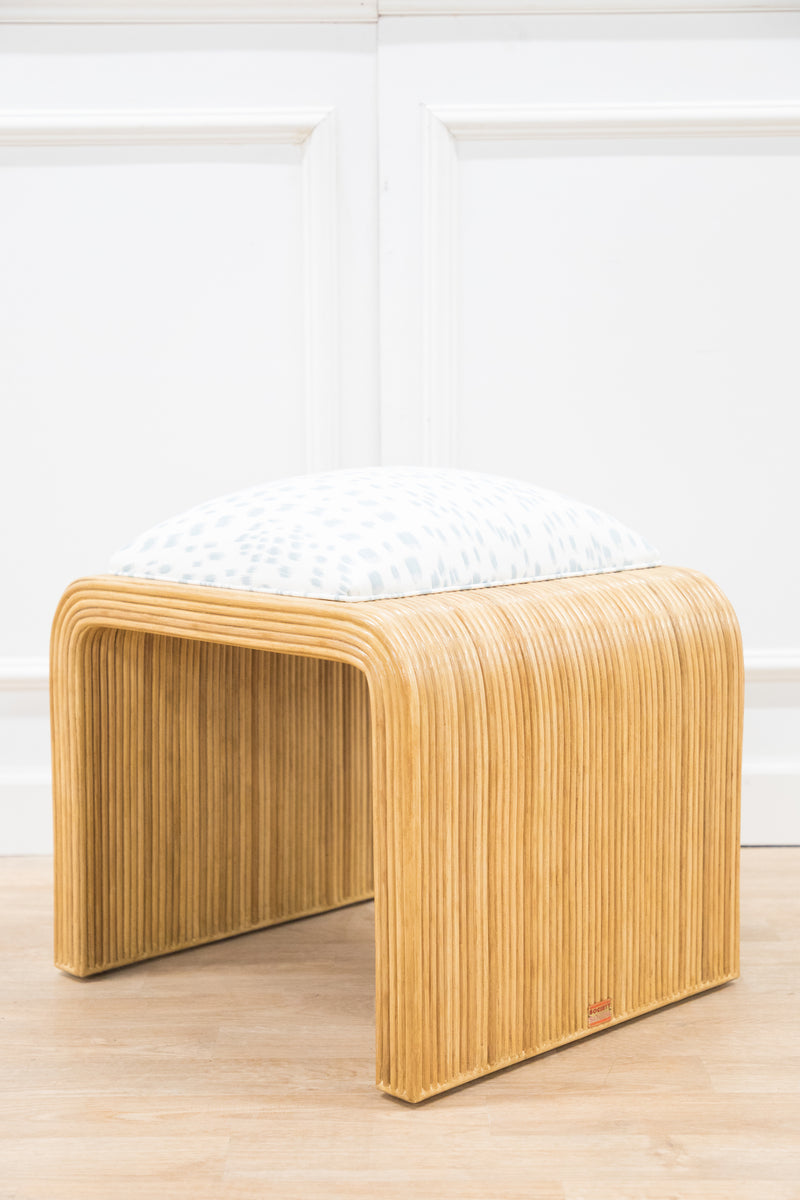 Warren Street Pencil Rattan Stool