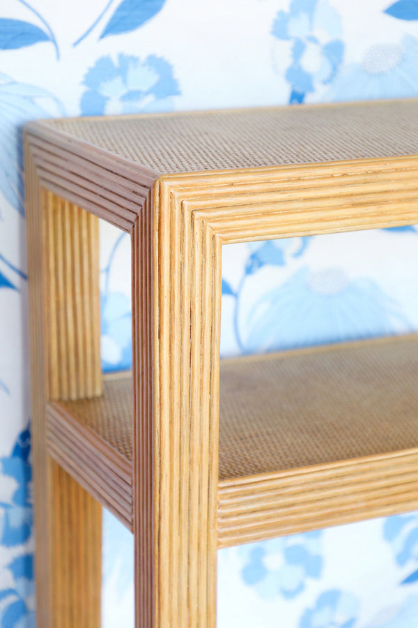 Makati Pencil Rattan Console - Natural