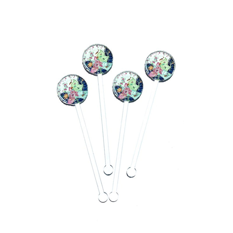 Colorful China Acrylic Stirrer Set