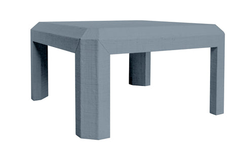 Alex Grasscloth Cocktail Table - Choose Your Own Color Collection