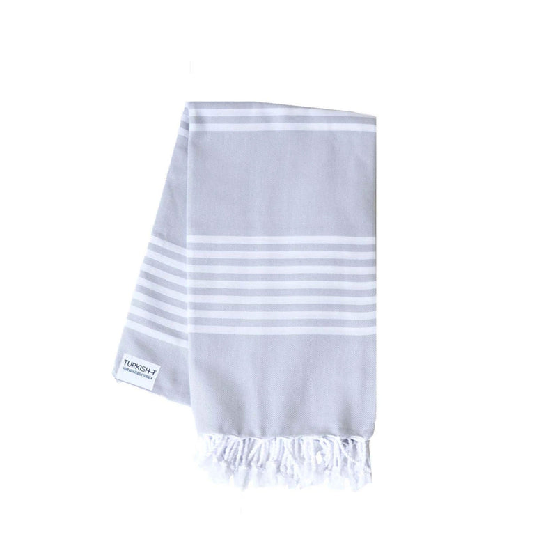 Alys Towel in Light Gray