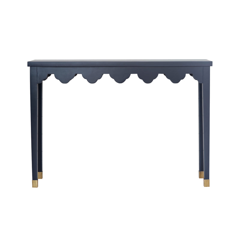 Amy Scalloped Console - Small