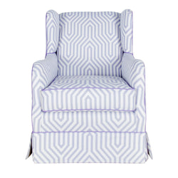 Austen Swivel Rocker Glider - Add Color Tape Trim