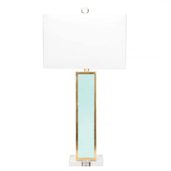 Blair Lamp in Mint Green