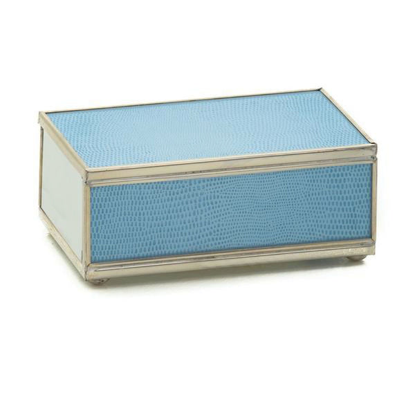 Blue Matchbox Case