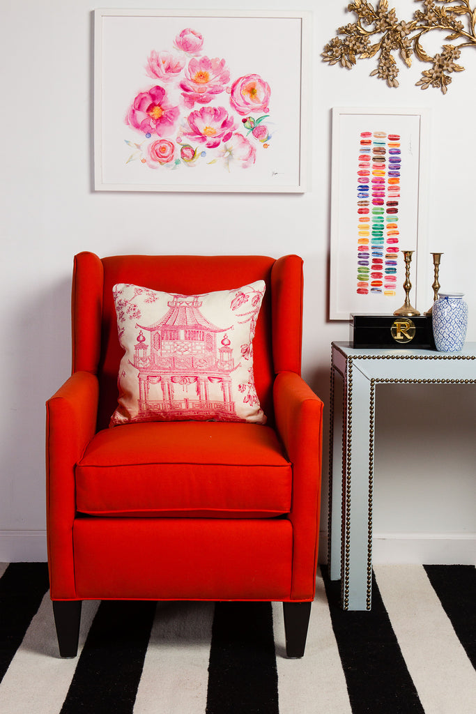 Chinoiserie Chic Hot Pink Society Social