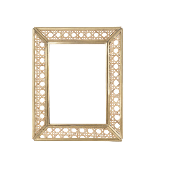 "Natural Cane Wicker Frame 4""x 6"""