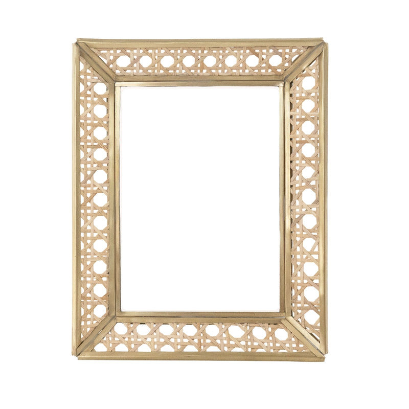 "Natural Cane Wicker Frame 5""x 7"""