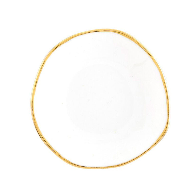 Mini White Ring Dish