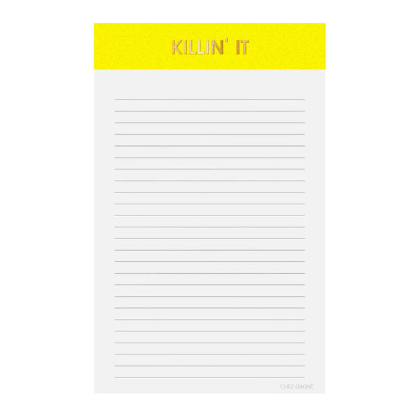 Killin' It Notepad