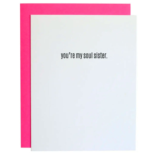 You're My Soul Sister Card
