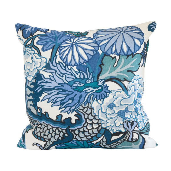 Chiang Mai China Blue Pillow