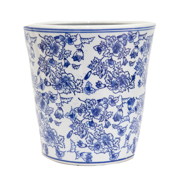 "Chinoiserie Round 8"" Planter"