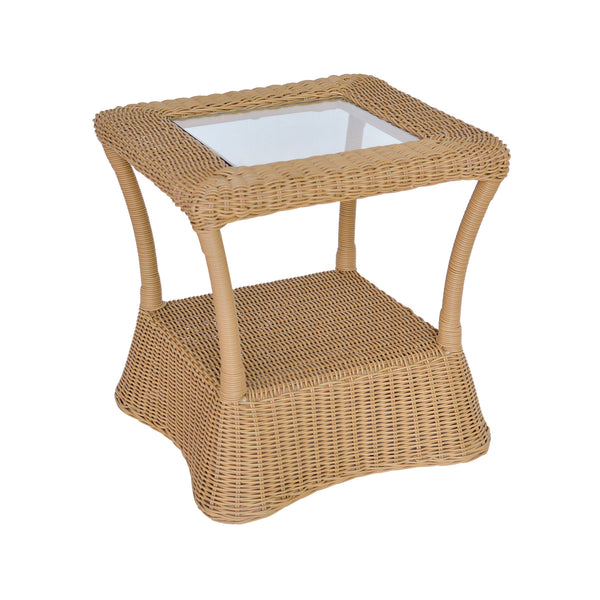 Claremont All-Weather Wicker End Table