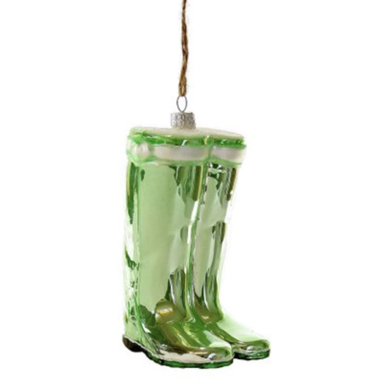 Pair of  Mint Wellies Ornament