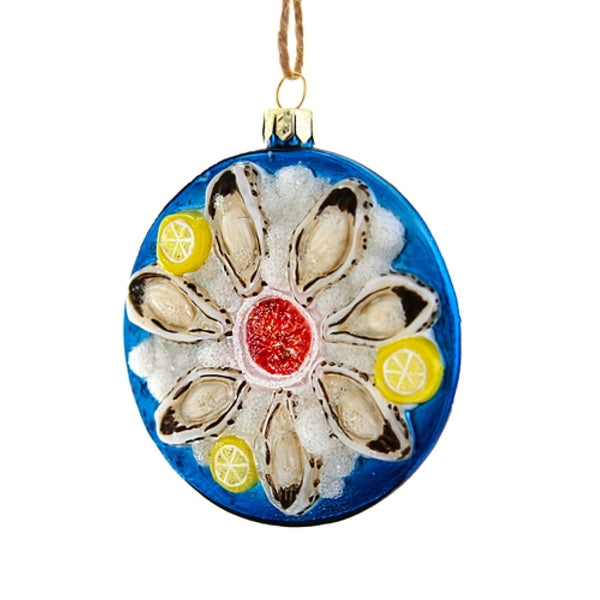Plate of Oysters Ornament