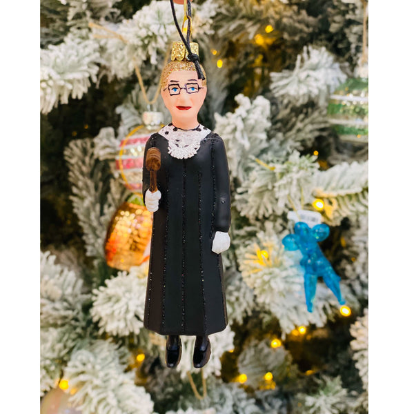 Notorious RBG ( Standing) Ornament