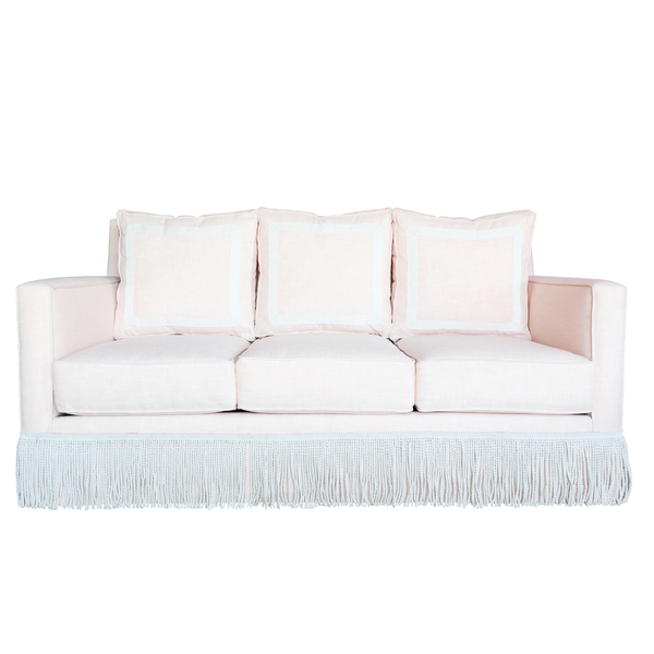 The Beverly Sofa - Bullion Fringe