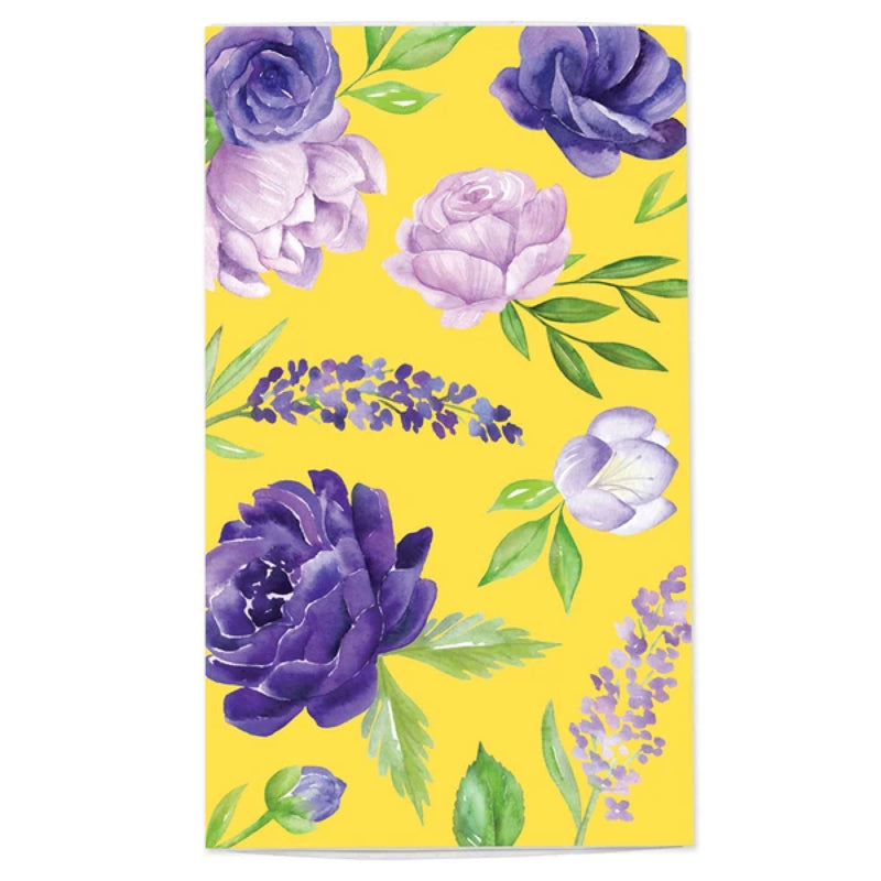 Floral Matchbox in Violet