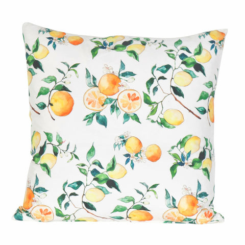 Citrus Blossoms by Inslee Pillow