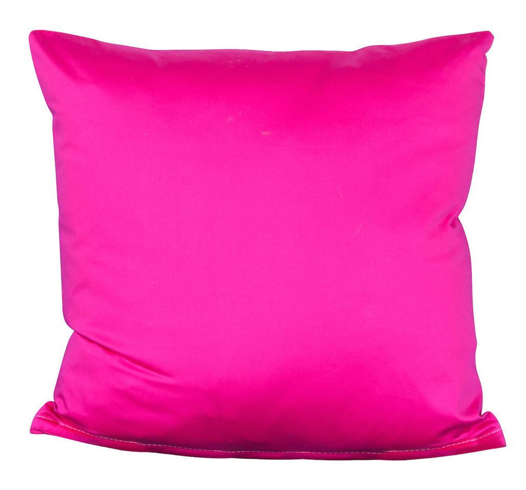 hot pink pillow. hot pink pillow – society social