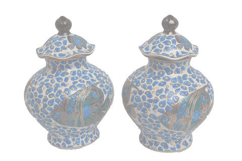 Hand-painted Ginger Jars