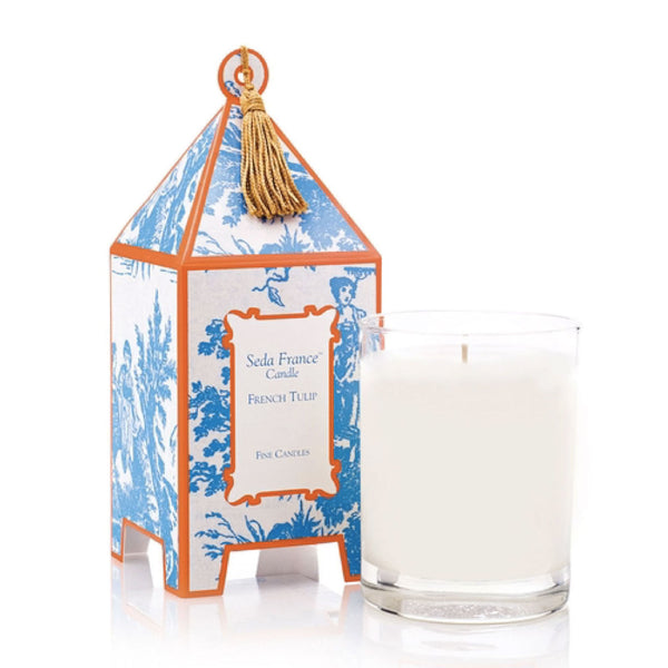 French Tulip Scented Candle