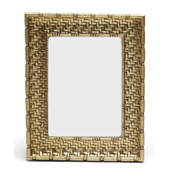 "Gold Weave Frame  5""x 7"""