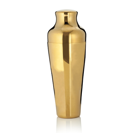 Society Gold Cocktail Shaker