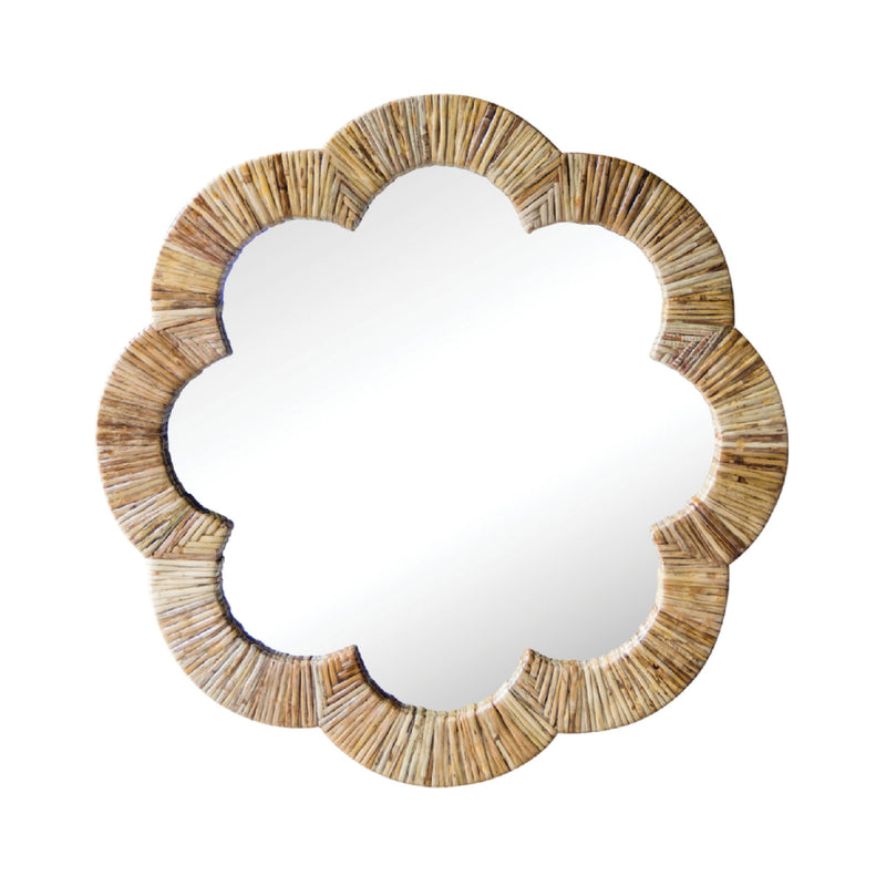 Gracie Scalloped Mirror