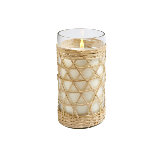 Sea & Salt Bamboo Candle