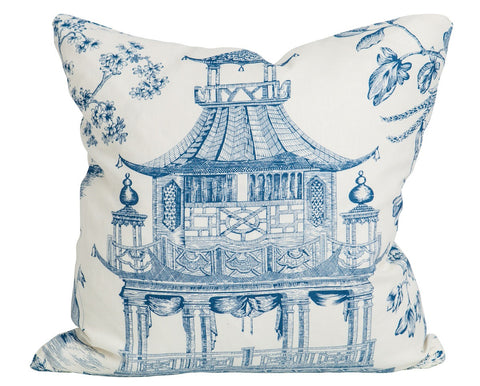 Chinoiserie Chic Porcelain Blue