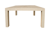 Newport Grasscloth Dining Table