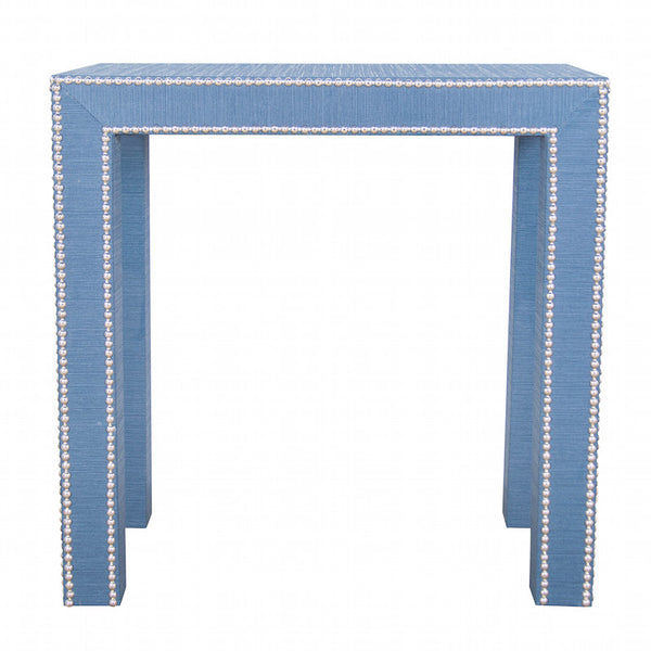 Celine Grasscloth Side Table