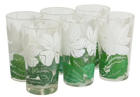 Floral Highball Set