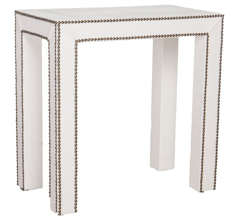 Celine Nailhead Side Table