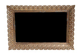 Large Rectangular Mirrored Tray