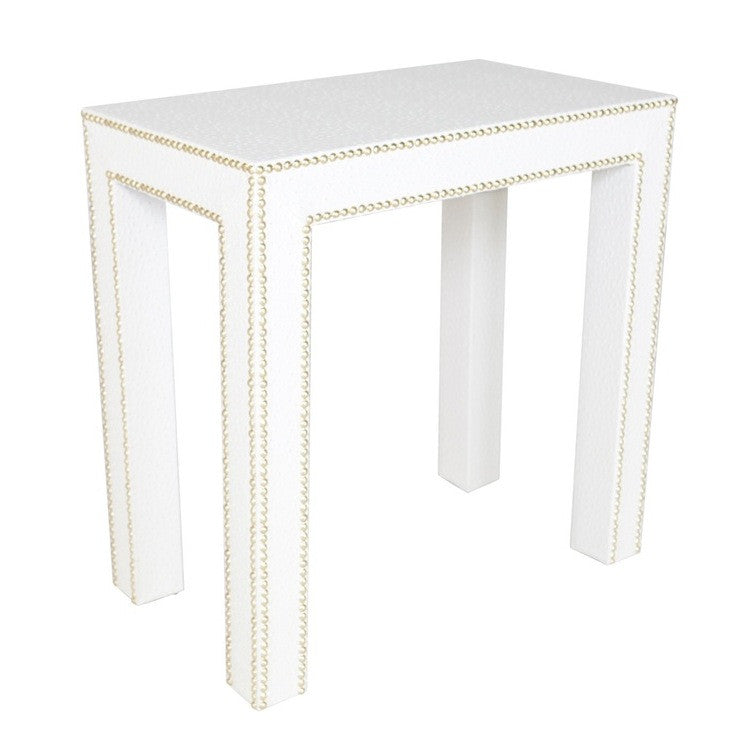 Beau Celine Nailhead Table