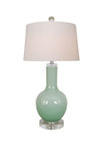 Cool Mint Gourd Lamp
