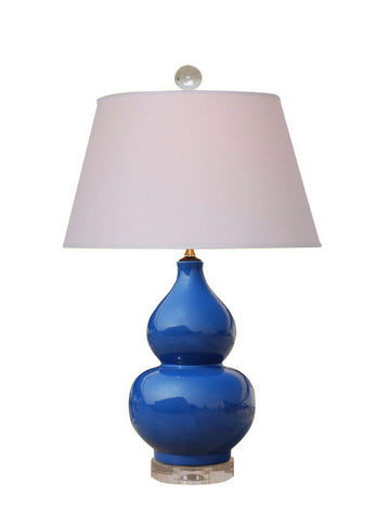 Blue Double Gourd Lamp