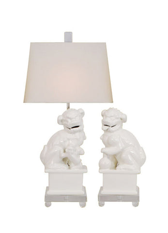 Foo Dogs Lamp